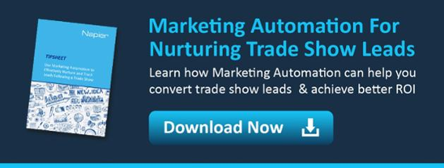 marketing automation nurture trade show leads
