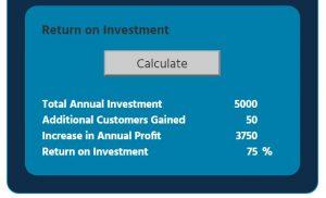RoI Calculator Results